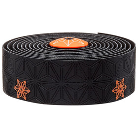 Supacaz Super Sticky Kush Starfade Handlebar Tape, neon orange print